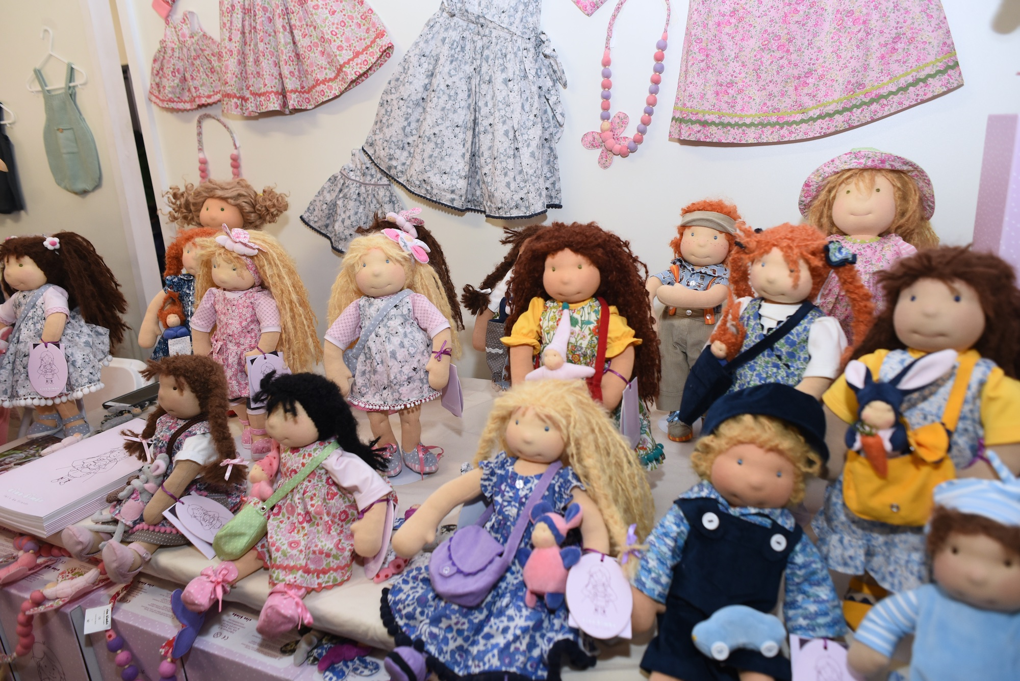 Ciao Bimba dolls at the ShopUp